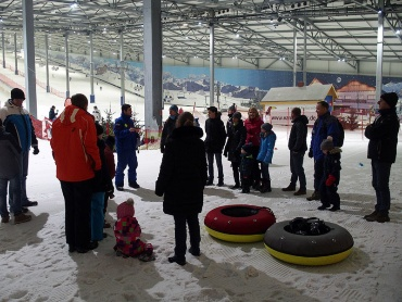 Winterspaß in der Skihalle Wittenburg 2018
