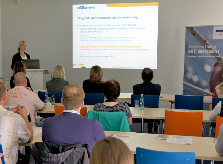 Workshop zum Thema Egovernment